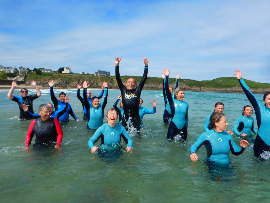 photo présentation du groupe de marche aquatique et hyperlien pour présentation de la marche aquatique - planning