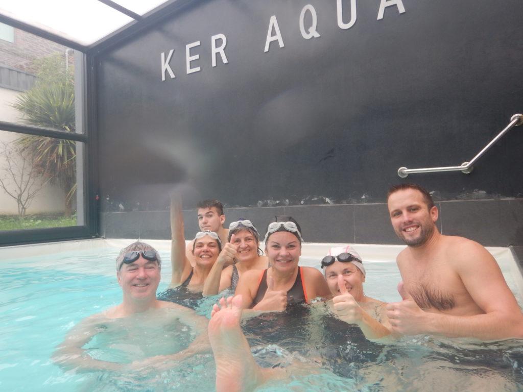 groupe du stage aquaphobie osélo du 25 et 26 janvier 2020